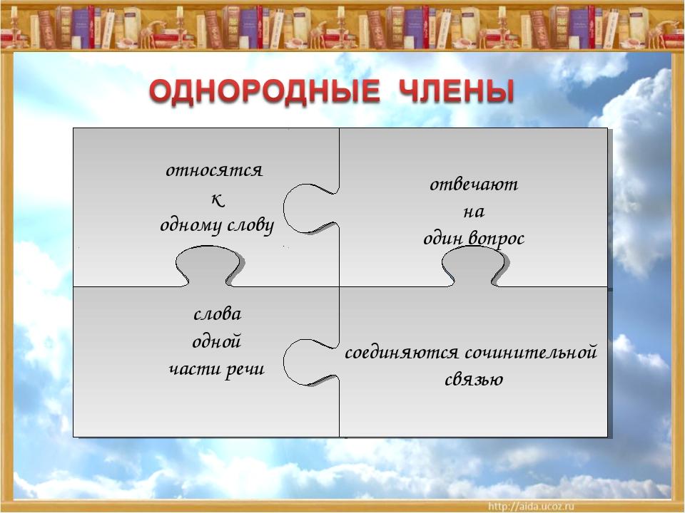 * Углубить знания о предложениях с однородными членами относятся к одному сло...
