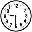 clock 9 30
