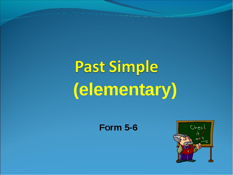 (elementary) Form 5-6