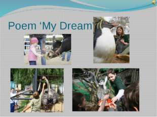 Poem 'My Dream'