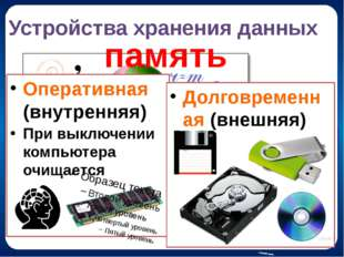 Манипуляторы Мышь ; Трекбол; Джойстик. Управляют экранными объектами