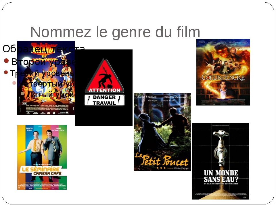 Nommez le genre du film