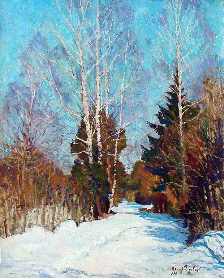 C:\Users\HOME\Desktop\Проект\Приложение к открытому уроку\Игорь Грабарь, Зимний пейзаж.jpg