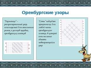"""Оренбургские узоры """"Гармошка"""" – распространенный узор, используемый для запол"""