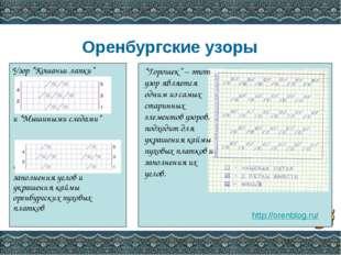 """Оренбургские узоры Узор """"Кошачьи лапки"""" и """"Мышиными следами"""" часто применяет"""