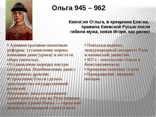 Святослав962 – 972гг. Завершениепроцессаобъединениявосточнославянскихплеменпо...
