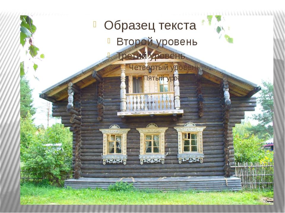 Лицевая часть дома (фронтон) Название окна на лицевой части дома (красное ок...