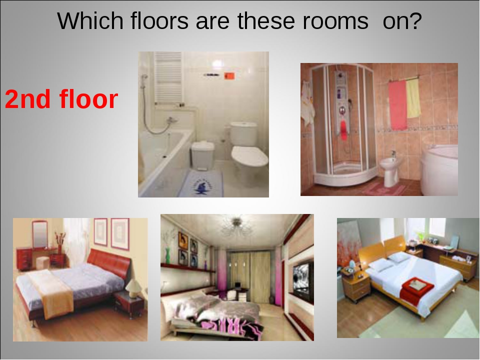 Which floors are these rooms on? 2nd floor