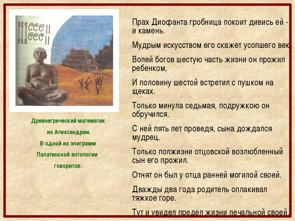 Пифагор Годы жизни 580 – 500 гг.до н.э.