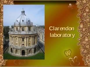 Clarendon laboratory