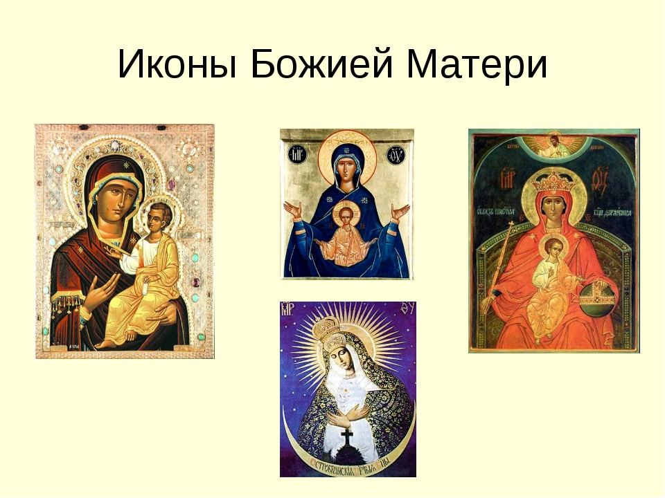 Иконы Божией Матери