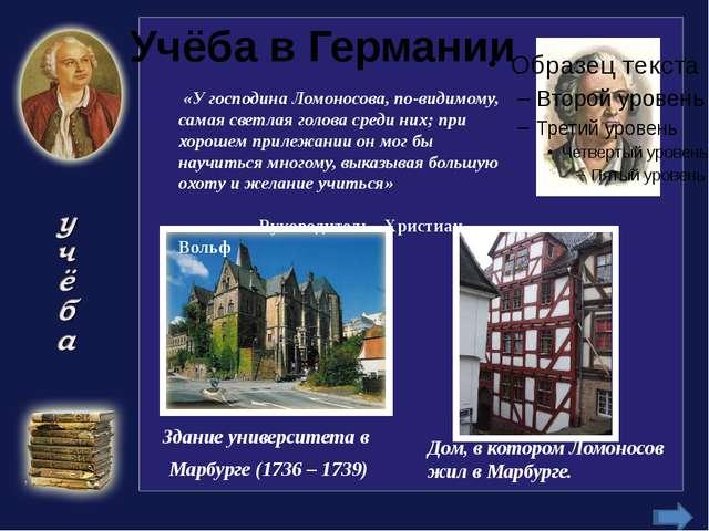 М.В.Ломоносов в химической лаборатории (рисунок В.В. и Л.Г.Петровых, 1959 г.)