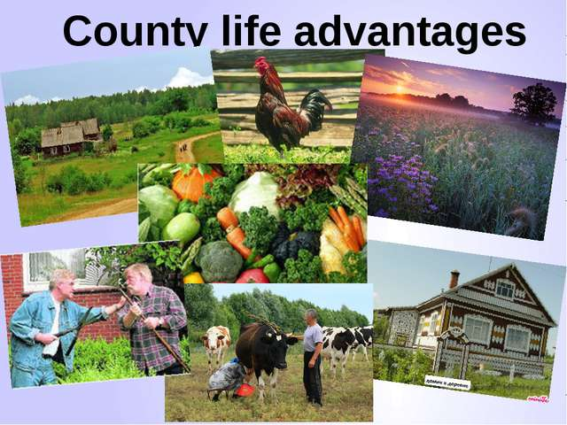 County life advantages