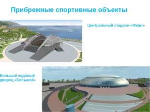 Прибрежные спортивные объекты Центральный стадион «Фишт» Большой ледовый двор