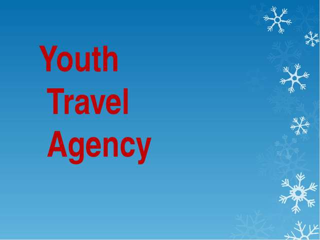 Youth Travel Agency