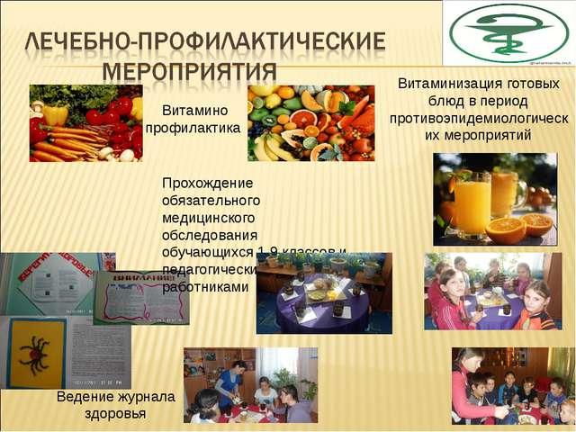 Витамино профилактика Витаминизация готовых блюд в период противоэпидемиологи...