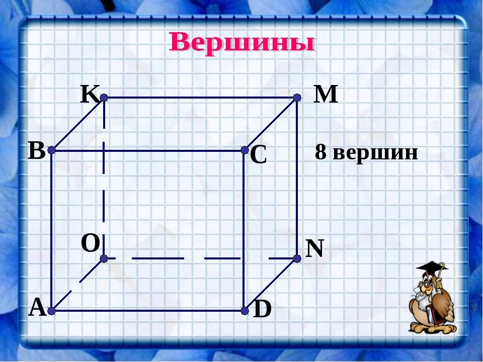 8 вершин
