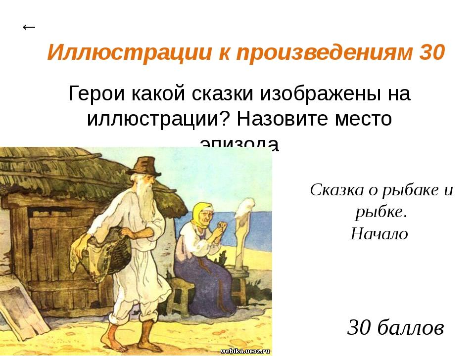 Сказочный калейдоскоп 30 ← заяц кобыла 30 баллов Какие животные изображены в...