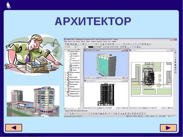 АРХИТЕКТОР Москва, 2006 г.