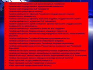 Челябинский государственный агроинженерный университет Челябинский государст