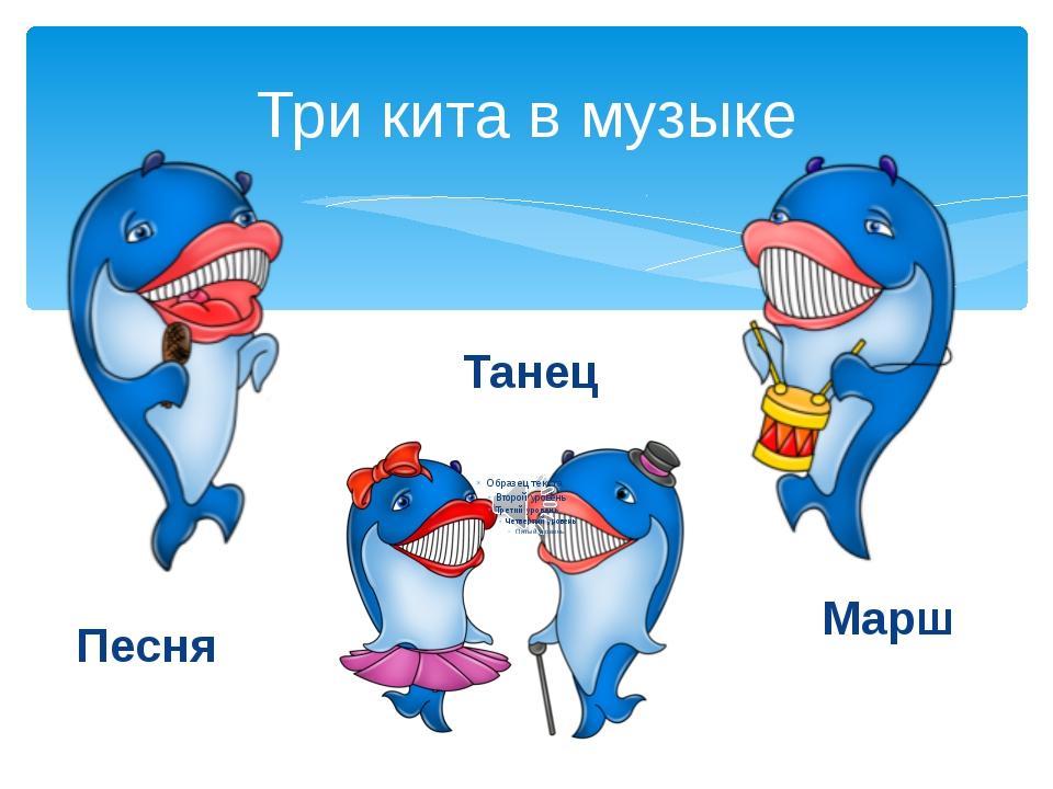 Конспект урока по музыке 2 класс три кита в музыке: песня танец и марш