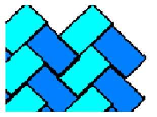 Исходное растровое изображение Увеличенное растровое изображение Появился сту
