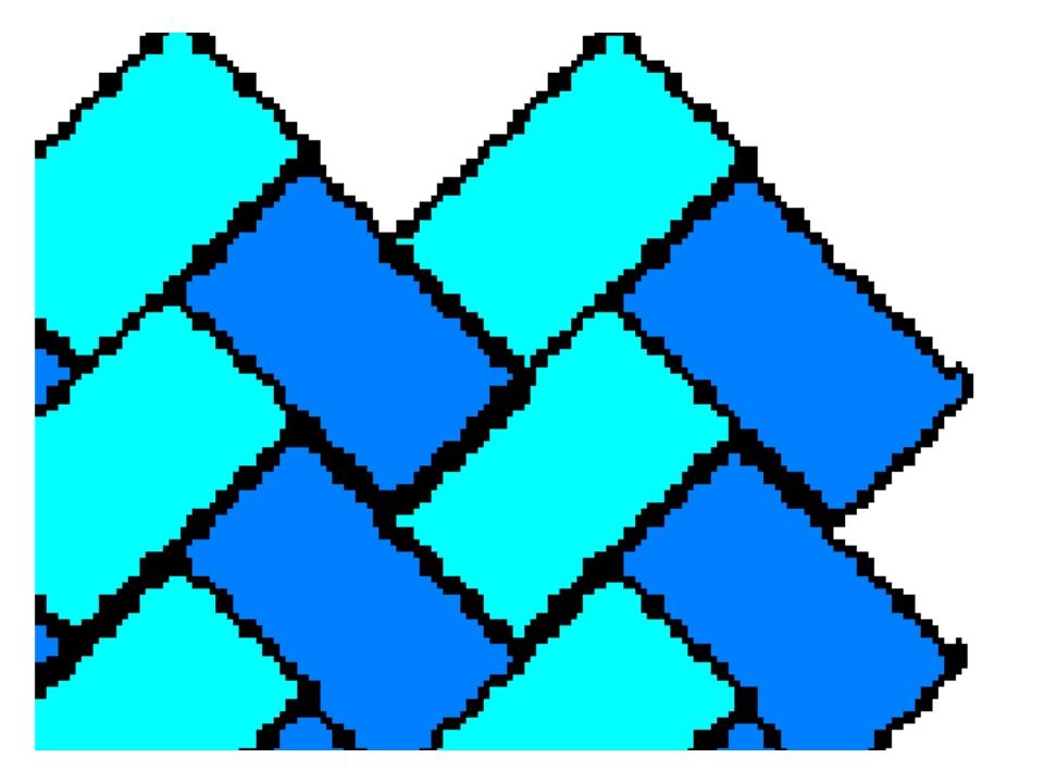 Исходное растровое изображение Увеличенное растровое изображение Появился сту...