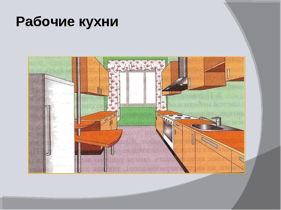 Рабочие кухни