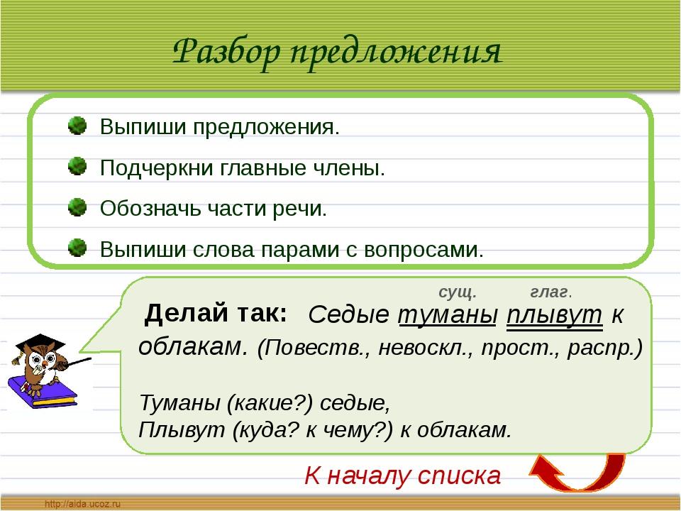 Список использованной литературы: Методические рекомендации для учителя «Русс...