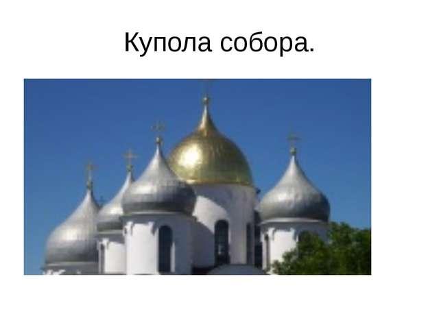 Купола собора.