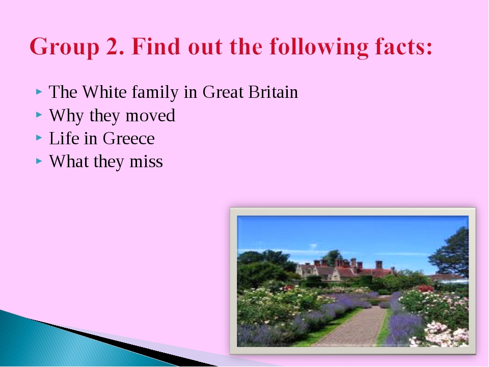 The White family in Great Britain Why they moved Life in Greece What they miss