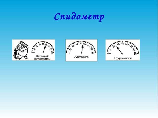 Спидометр