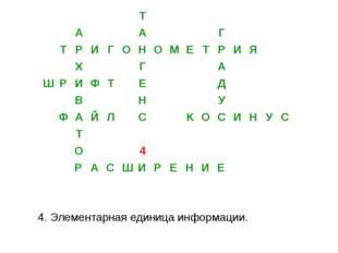 Составить как можно больше слов 1 команда Тригонометрия 2 команда Информатика