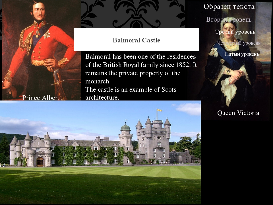 Balmoral Castle Balmoral has been one of the residences of the British Royal...