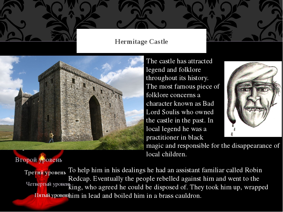 Hermitage Castle The castle has attracted legend and folklore throughout its...