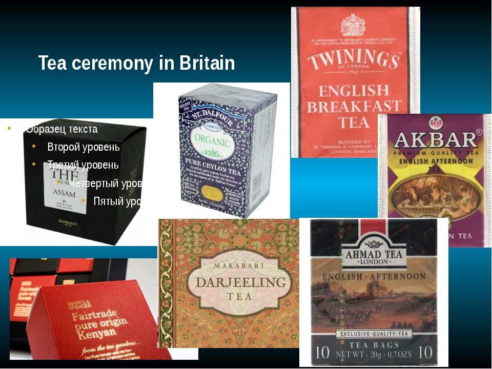 Tea ceremony in Britain