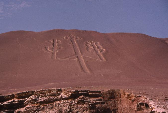Пустыня Наска (Nazca) в Перу