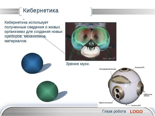 Кибернетика . Кибернетика использует полученные сведения о живых организмах...