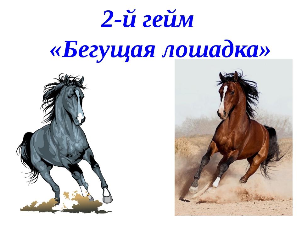 2-й гейм «Бегущая лошадка»
