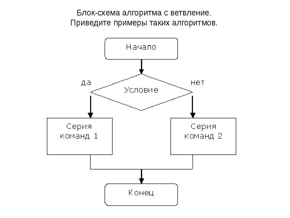 слайда 12 Блок-схема алгоритма