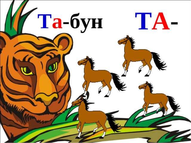 Та-бун ТА-