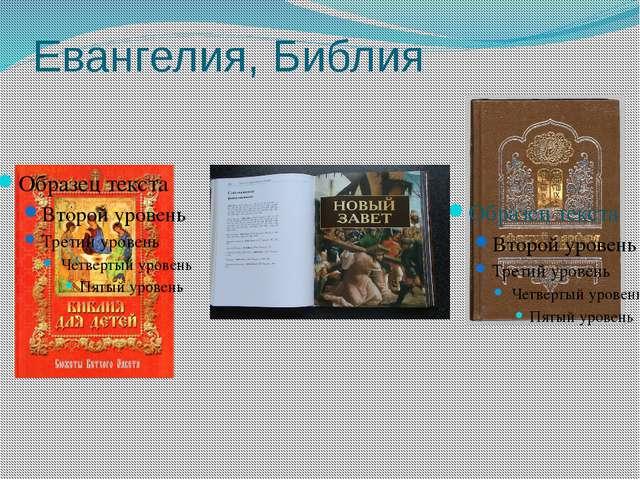 Евангелия, Библия