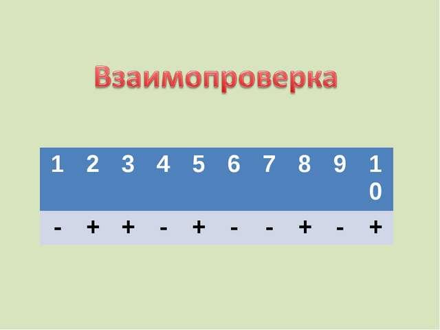 12345678910 -++-+--+-+