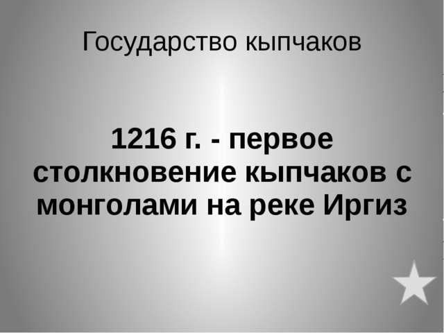 Найманы и кереиты 1128 г. - После поражения монголам Кучлук бежал в Бадахшан,...
