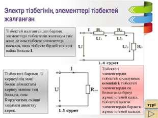 Номиналды кернеу немесе номиналды ток және көздегі электр энергиясының қуаты