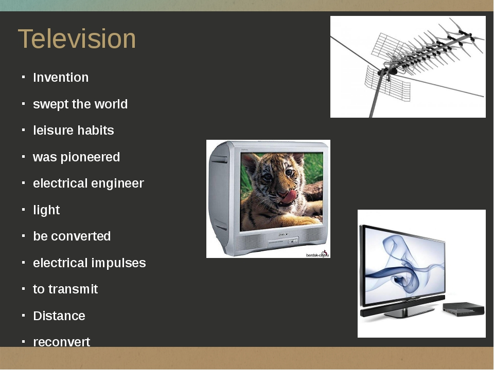 Television Invention swept the world leisure habits was pioneered electrical...