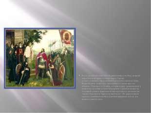 Когда ордынский князь Мамай двинул войска наРусь, великий князь Дмитрий при