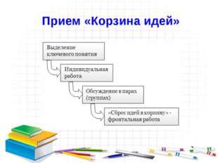Прием «Корзина идей»