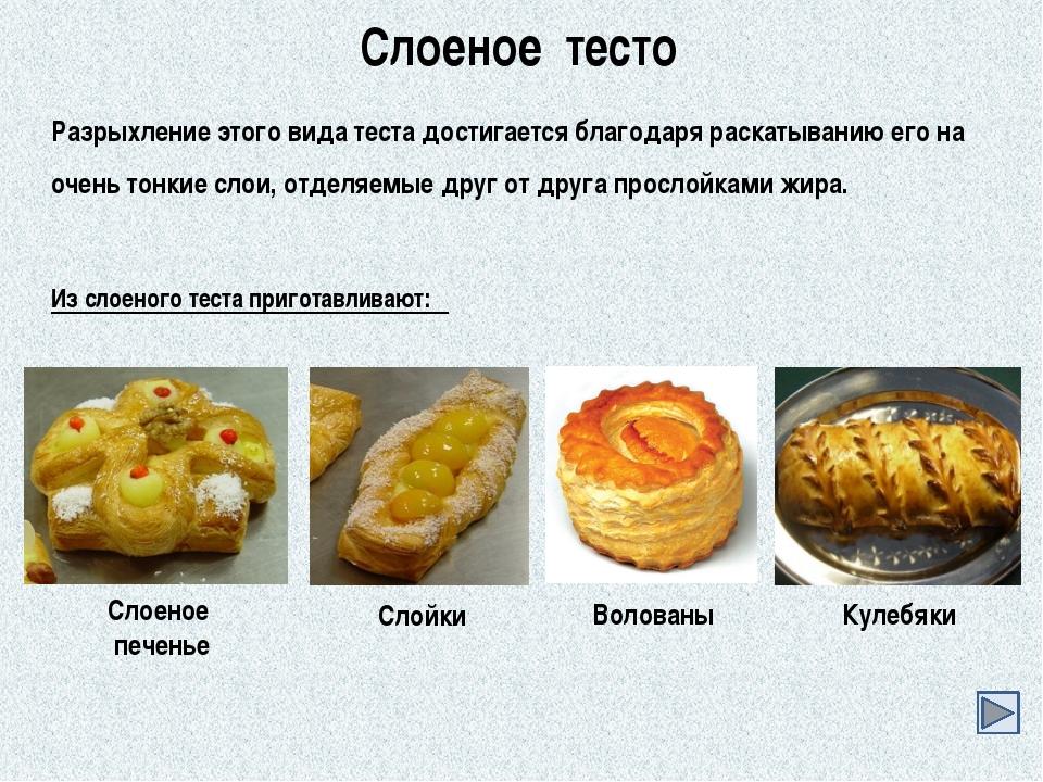 Приготовления тесто слоеного-дрожжевого