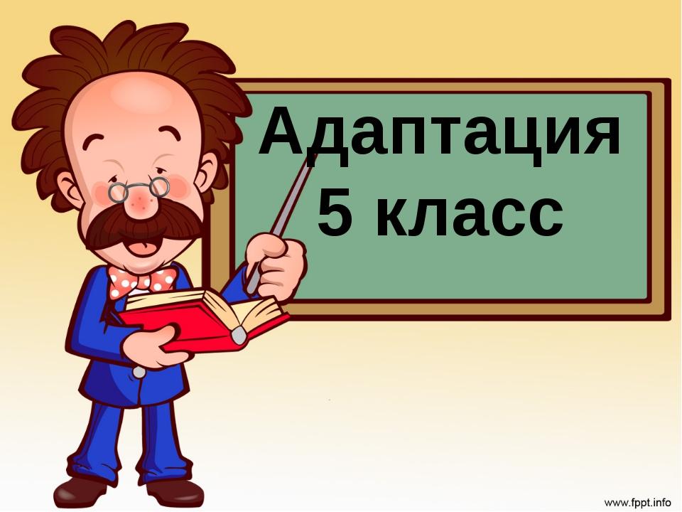 Адаптация 5 класс